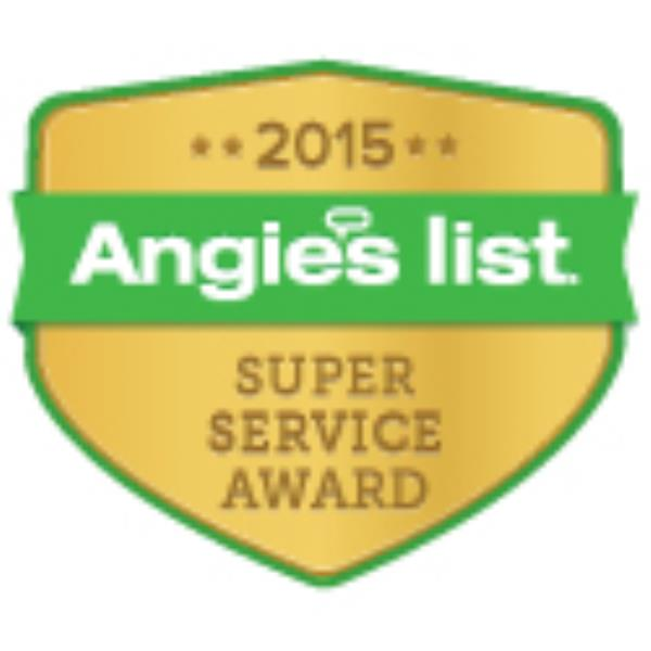 We are the ONLY radon company in Iowa that has earned the Angie's List Super Service Award in 2014 & 2015!