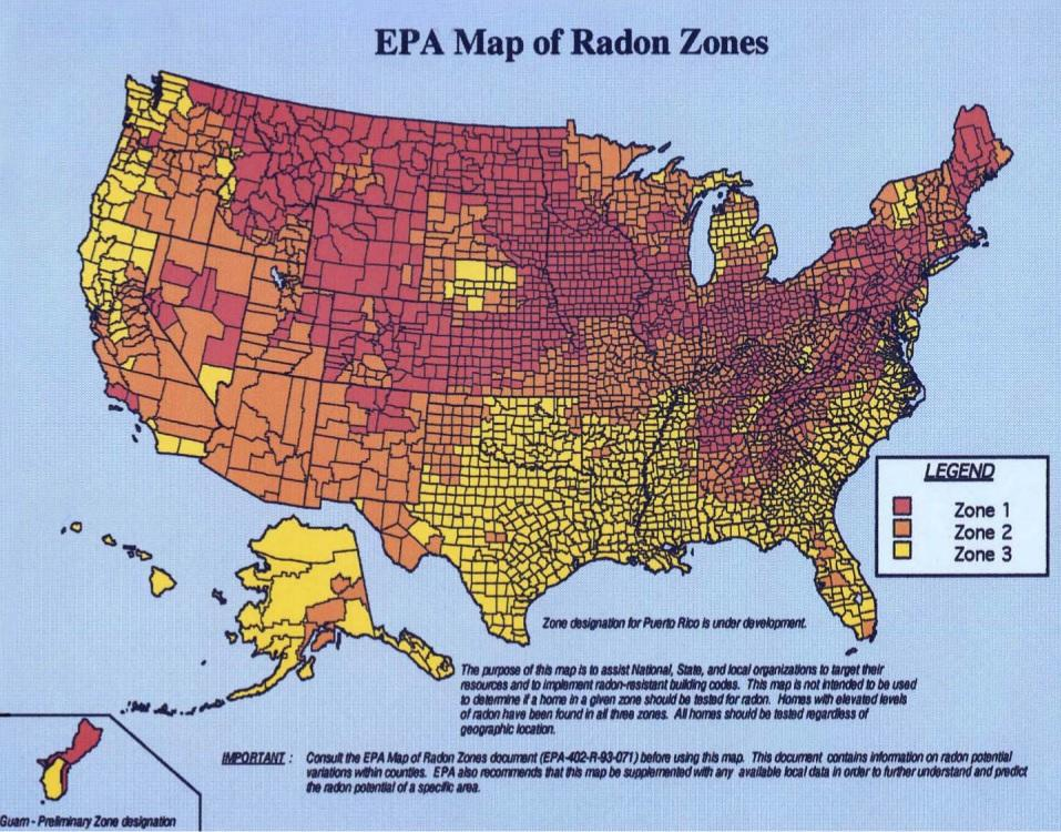 radon levels in Iowa, radon mitigation and removal company in des moines iowa