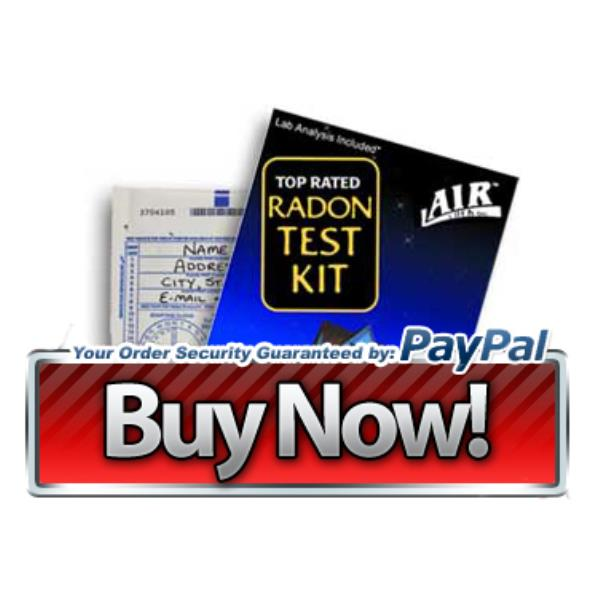 Order your Do-It-Yourself home Radon Gas test kit here. ONLY $10 includes all shipping fees!