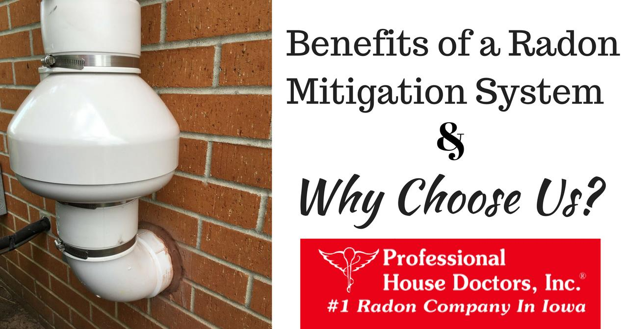 Benefits of a Radon Mitigation System