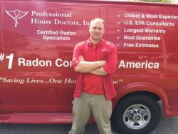 Radon Gas Testing in Newton, Iowa